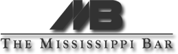 Mississippi Bar Logo Dark